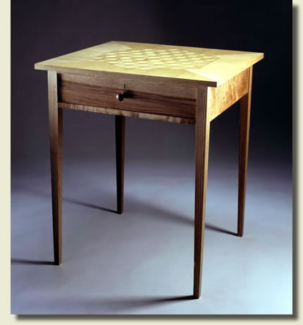 Handmade furniture: Shaker side table by Dimension Furniture
